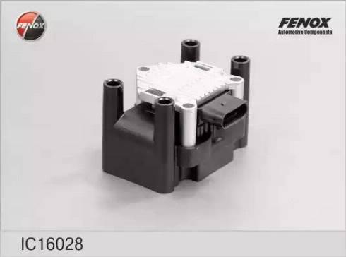 Fenox IC16028 - Катушка зажигания autodnr.net