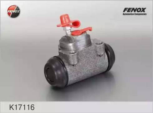 Fenox k17116 - Колесный тормозной цилиндр autodnr.net
