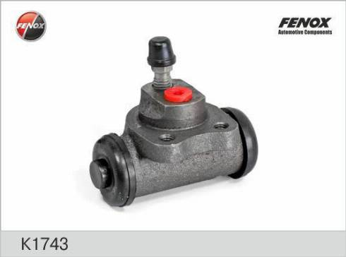 Fenox k1743 - Колесный тормозной цилиндр autodnr.net