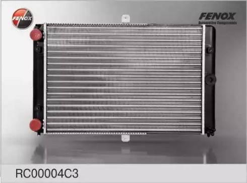 Fenox rc00004c3 - Радиатор, охлаждение двигателя autodnr.net