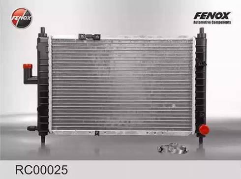 Fenox rc00025 - Радиатор, охлаждение двигателя autodnr.net