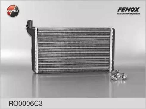 Fenox ro0006c3 - Теплообменник, отопление салона autodnr.net