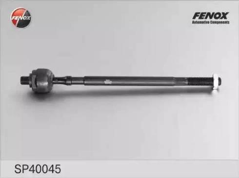 Fenox SP40045 - Осевой шарнир, рулевая тяга autodnr.net