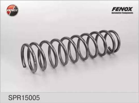 Fenox spr15005 - Пружина ходовой части autodnr.net