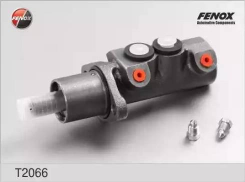 Fenox T2066 - Главный тормозной цилиндр autodnr.net