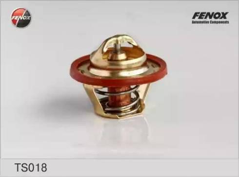 Fenox ts018 - Термостат, охлаждающая жидкость autodnr.net