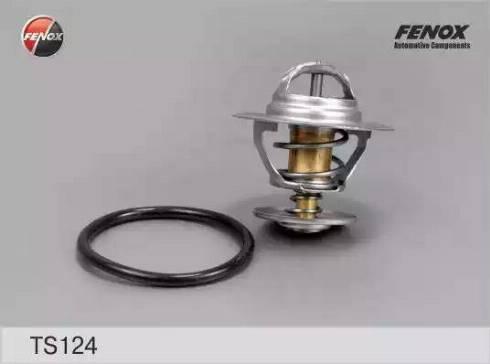 Fenox ts124 - Термостат, охлаждающая жидкость autodnr.net