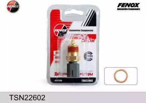Fenox TSN22602 - Датчик, температура охлаждающей жидкости avtokuzovplus.com.ua