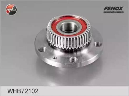 Fenox WHB72102 - Ступица колеса, поворотный кулак car-mod.com