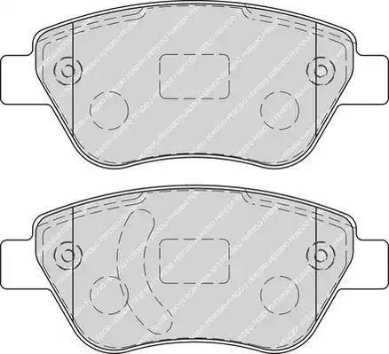 Ferodo FDB1920 - Тормозные колодки, дисковые car-mod.com