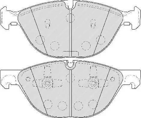 EGT 322044EGT - Комплект тормозных колодок, дисковый тормоз autodnr.net