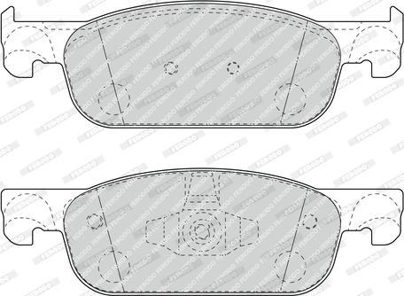 Ferodo FDB4907 - Тормозные колодки, дисковые car-mod.com