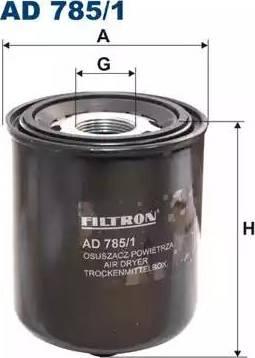 Filtron AD7851 - Патрон осушителя воздуха, пневматическая система car-mod.com