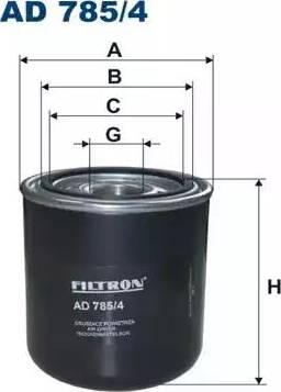 Filtron AD7854 - Патрон осушителя воздуха, пневматическая система car-mod.com