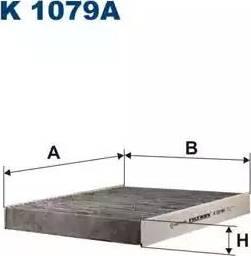 Filtron K1079A - Фильтр салонный autodnr.net