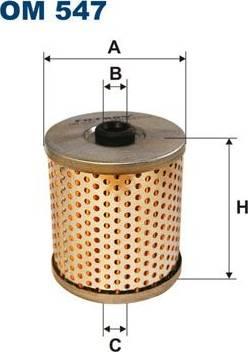 Filtron OM547 - Фильтр, Гидравлическая система привода рабочего оборудования avtokuzovplus.com.ua