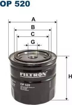 Filtron op520 - Фильтр, Гидравлическая система привода рабочего оборудования autodnr.net