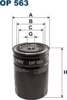 Filtron op563 - Фильтр, Гидравлическая система привода рабочего оборудования autodnr.net