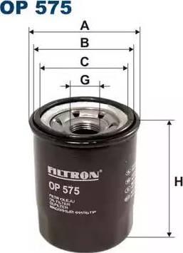 Filtron OP575 - Масляный фильтр autodnr.net