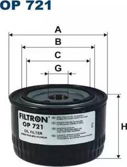 Filtron OP721 - Гідрофільтри, автоматична коробка передач autocars.com.ua