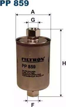 Filtron PP859 - Топливный фильтр autodnr.net