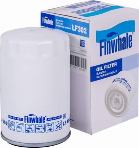Finwhale LF302 - Масляний фільтр autocars.com.ua