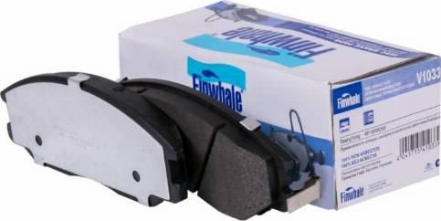 Finwhale V1033 - Тормозные колодки autodnr.net