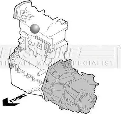 First Line FEM3892 - Подушка, підвіска двигуна autocars.com.ua