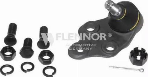 Flennor FL594-D - Шаровая опора, несущий / направляющий шарнир car-mod.com