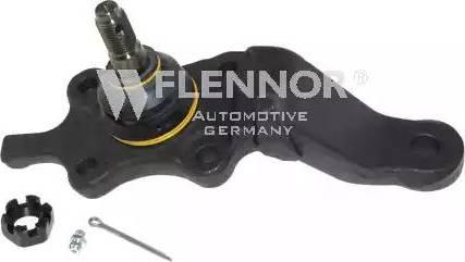 Flennor FL766-D - Шаровая опора, несущий / направляющий шарнир car-mod.com