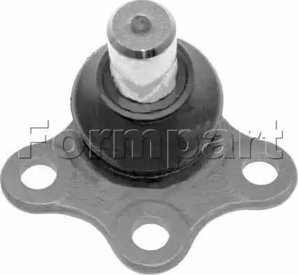 Formpart 1304005 - Шаровая опора, несущий / направляющий шарнир car-mod.com