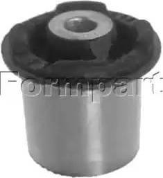 Formpart 2000011 - Сайлентблок, рычаг подвески колеса car-mod.com