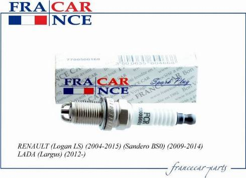 Francecar =FCR211057 - Свеча зажигания autodnr.net