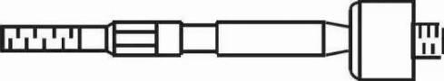 FRAP 4428 - Осевой шарнир, рулевая тяга car-mod.com