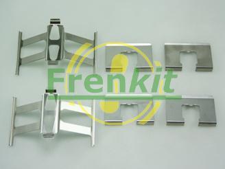 Frenkit 901118 - Комплектующие, колодки дискового тормоза avtokuzovplus.com.ua