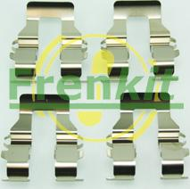 Frenkit 901199 - Комплектующие, колодки дискового тормоза avtokuzovplus.com.ua