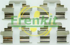 Frenkit 901215 - Комплектующие, колодки дискового тормоза avtokuzovplus.com.ua