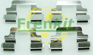 Frenkit 901610 - Комплектующие, колодки дискового тормоза avtokuzovplus.com.ua