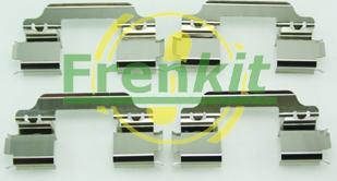 Frenkit 901649 - Комплектующие, колодки дискового тормоза avtokuzovplus.com.ua
