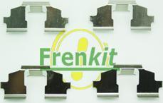 Frenkit 901675 - Комплектующие, колодки дискового тормоза autodnr.net