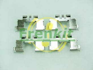 Frenkit 901677 - Комплектующие, колодки дискового тормоза avtokuzovplus.com.ua