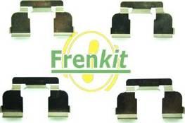 Frenkit 901698 - Комплектующие, колодки дискового тормоза avtokuzovplus.com.ua