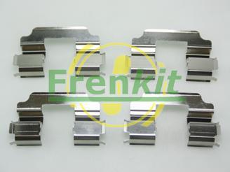 Frenkit 901709 - Комплектующие, колодки дискового тормоза avtokuzovplus.com.ua