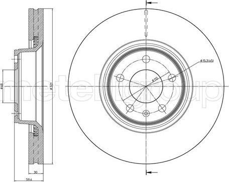 Fri.Tech. BD0070 - Тормозной диск autodnr.net