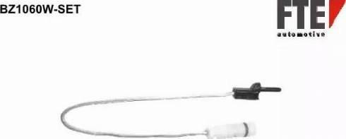FTE BZ1060W-SET - Сигнализатор, износ тормозных колодок autodnr.net