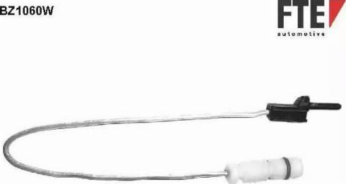 FTE BZ1060W - Сигнализатор, износ тормозных колодок autodnr.net