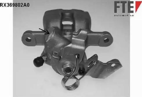 FTE RX369802A0 - Тормозной суппорт avtokuzovplus.com.ua