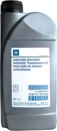 General Motors 93165147 - Масло автоматической коробки передач autodnr.net
