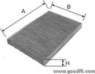 GoodWill AG 270 CFC - Фильтр салонный autodnr.net