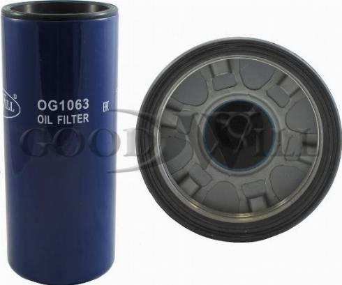 GoodWill OG 1063 - Масляний фільтр autocars.com.ua